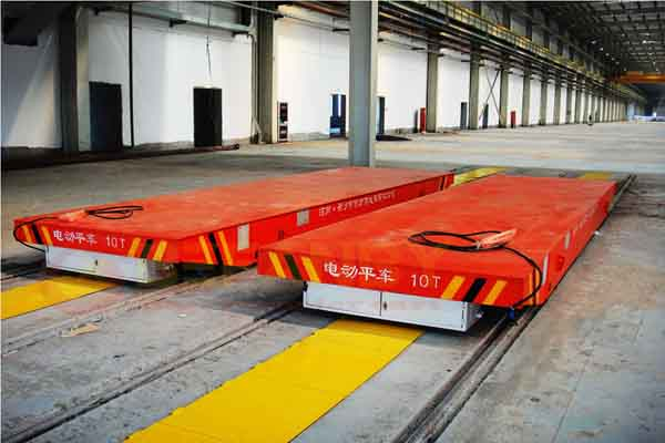 busbar power transfer cart